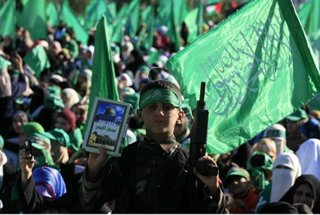 Hamas rally in Gaza (archive)