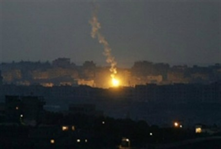IDF air strike on Gaza