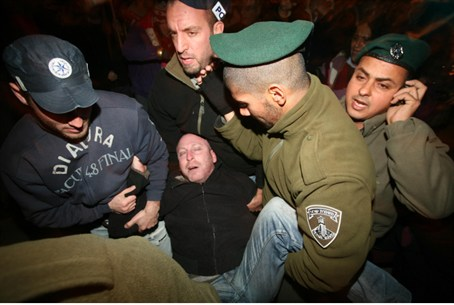 Protesters detained in Tel Aviv