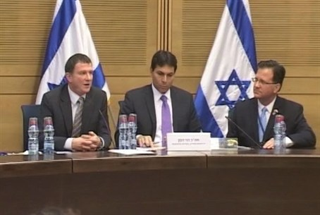 Hasbara Panel in the Knesset