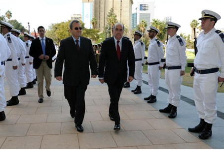 Cypriot Defense Minister Demetrius Eliades an