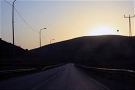 A road in Samaria
