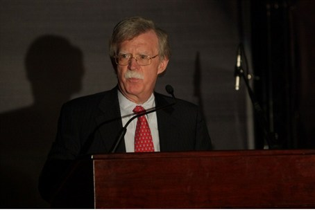 Ambassador John Bolton at Gush Katif dinner