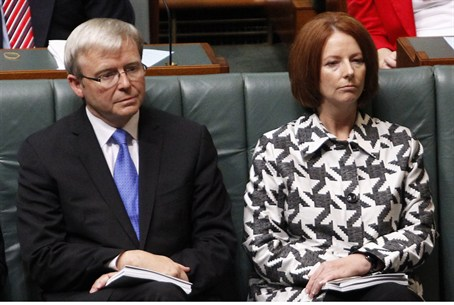 Rudd and Gillard