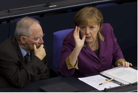 Merkel and Schaeuble