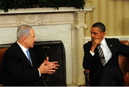Israeli PM Netanyahu, US Pres. Obama