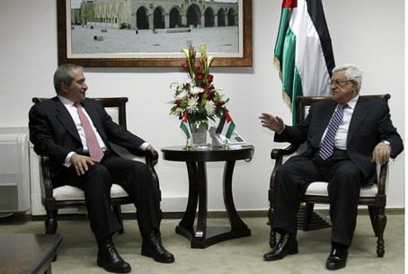 Judeh and Abbas meet in Ramallah