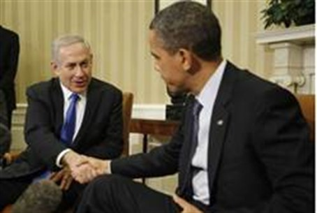 Netanyahu and Obama at the White House this w