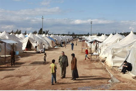 Turkish-Syrian Refugee Camp