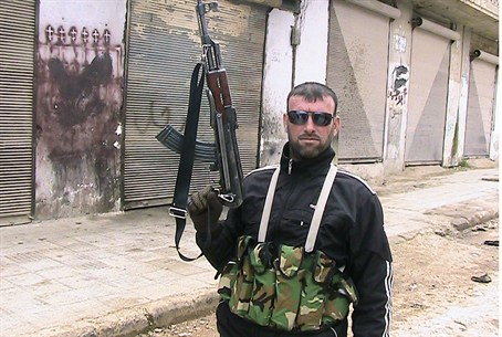 SFA Fighter Near Idlib