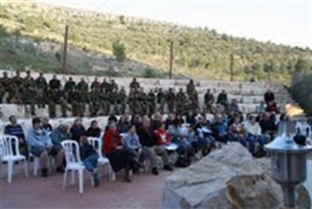 Memorial ceremony for Wadi Haramiya terror at