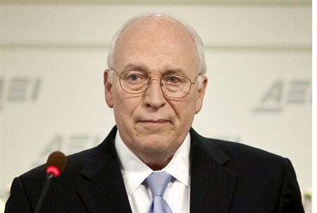 Former US VP Dick Cheney in 2009