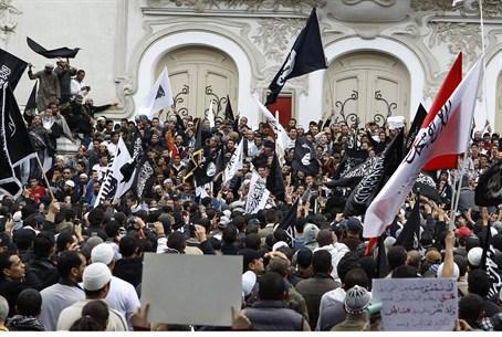 Tunisian Islamists demand Shari'a law