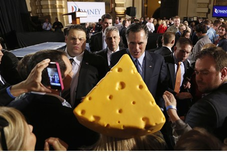 Romney the big cheese