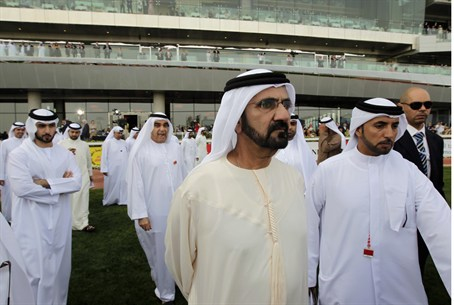 Dubai ruler, Vice-President and Prime Ministe