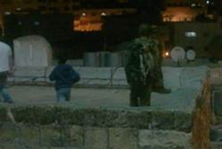 Soldiers on roofs after Arab attacks Saturday