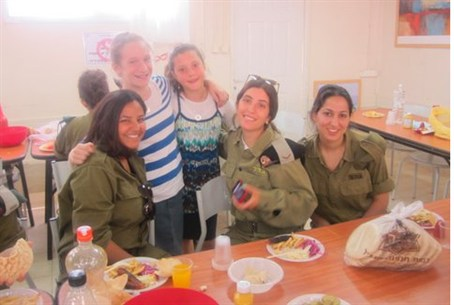 Bringing Independence Day to Ofer base from Y
