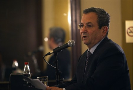 Ehud Barak meets foreign journalists