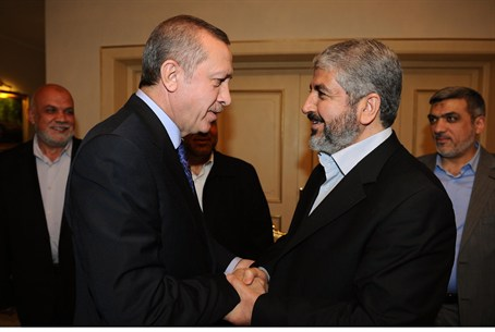 Erdogan and Mashaal meet in Turkey