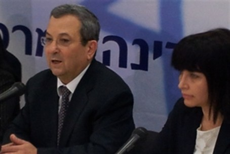 Ehud Barak and Einat Wilf