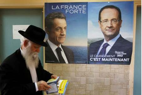 French citizen votes in Ashdod