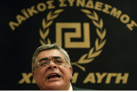 leader of Golden Dawn