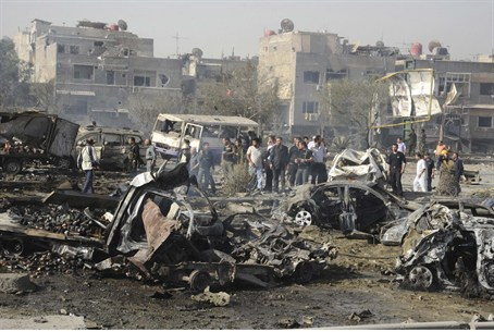 Damascus carnage May 10, 2012