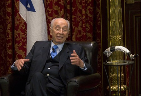 President Shimon Peres in Montreal