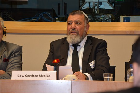 Gershon Mesika in Europe
