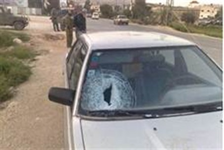 Windshield smashed by terrorists