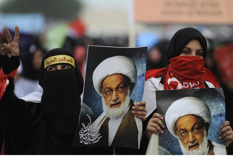 Shiite Protesters in Saudi Arabia