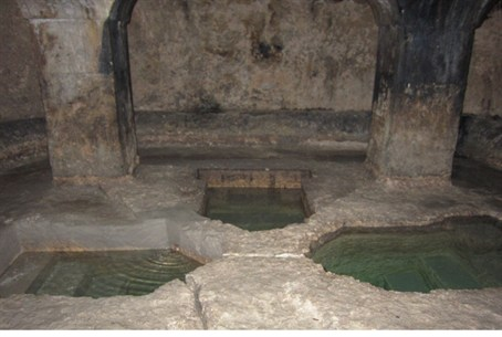 Ancient mikvah in Syracuse, Italy