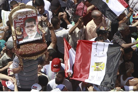 Egyptian supporters of Muslim Bortherhood