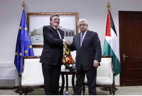Abbas meets Barroso in Ramallah