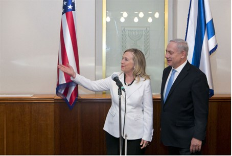 Clinton and Netanyahu differ on deadlines and