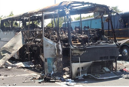 Israeli tour bus targeted in Burgas attack