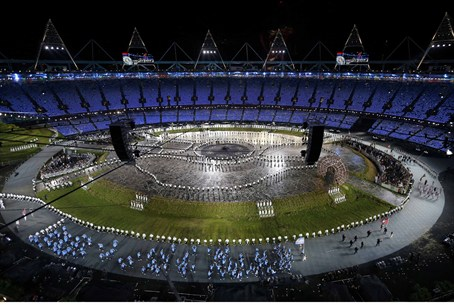 The opening ceremony of the London 2012 Olymp