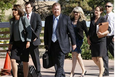 Defense team for James Holmes in Colorado