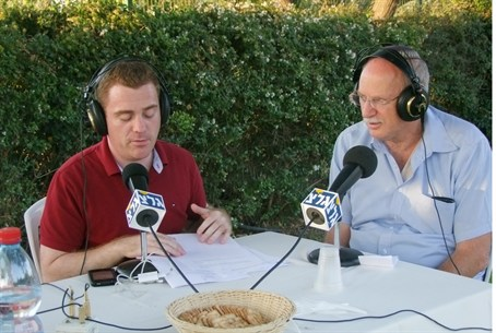 Army Radio live from Susya