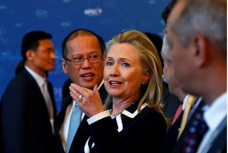 Clinton at Asia-Pacific Economic Cooperation