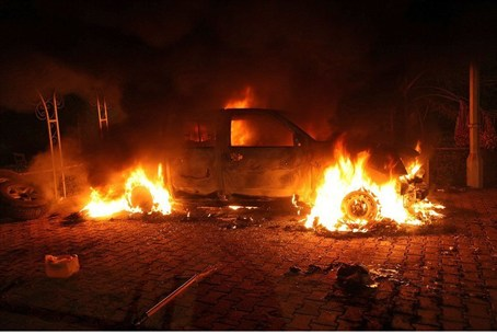 U.S. consulate in Benghazi one year ago