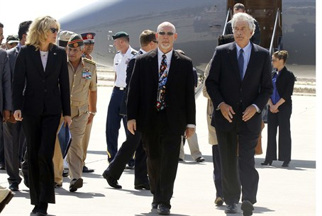 Dep. Secy of State William Burns Arrives in T