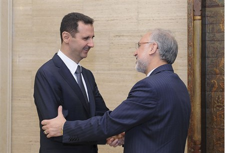 Syrian President Assad meets with FIranian FM
