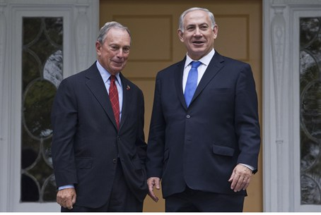 Mayor Bloomberg and Prime Minister Binyamin N
