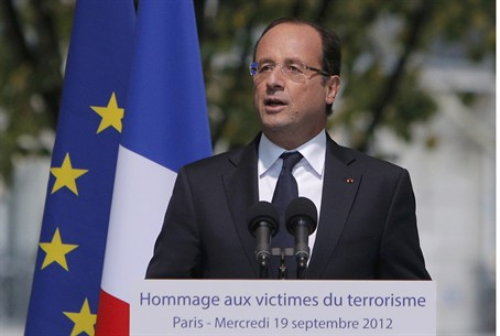 France's president proposed plans for a new a