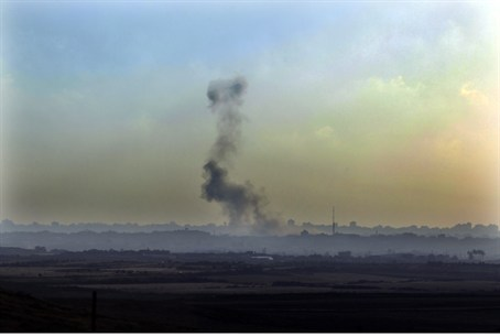 Rocket fire in Gaza