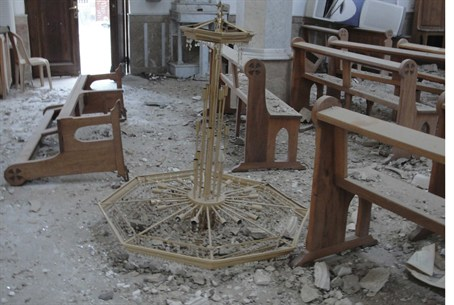 Churches and mosques have not escaped damage