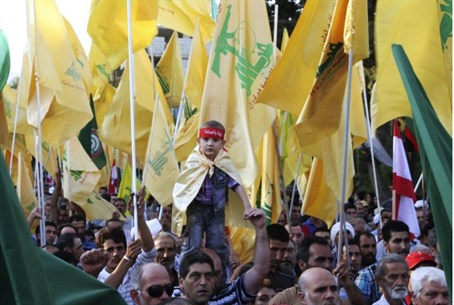 Hizbullah demonstration (file)