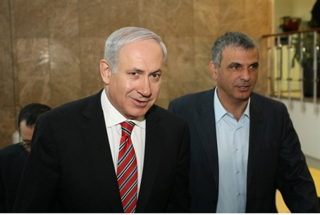 Netanyahu and Cachlon