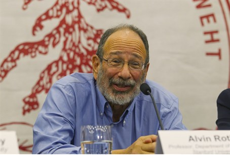 2012 Economics Nobel Prize winner Alvin Roth